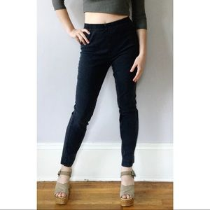 Vintage 90s High Waisted Easy Pants Faded Black 6